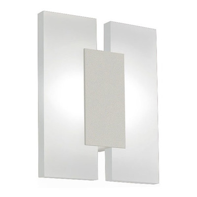Aplique Plafon Techo Metras 2 Luces Led 10w Cuadrado Moderno