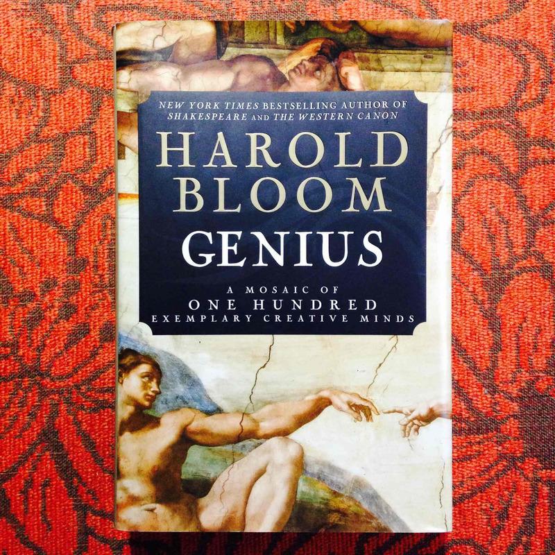 Harold Bloom. GENIUS.