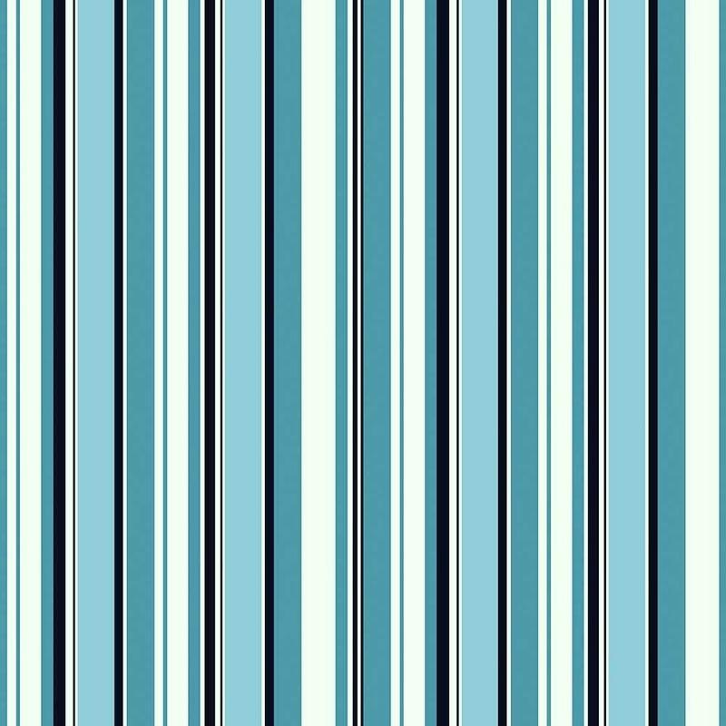 Tecido impermeável Acqua Soleil listrado juruti azul