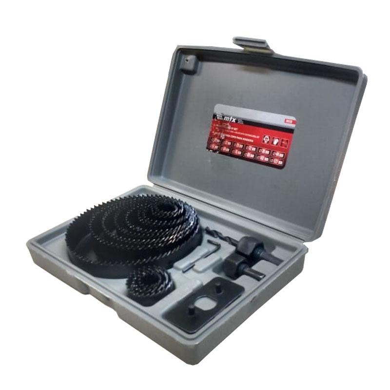 FURADEIRA DE BANCADA 500W 16MM G2321/BR1 110V + JOGO DE BROCAS + SERRAS COPO