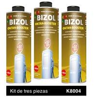 Aditivo de Gasolina Elevador de Octanaje Kit 3p de 250 ml