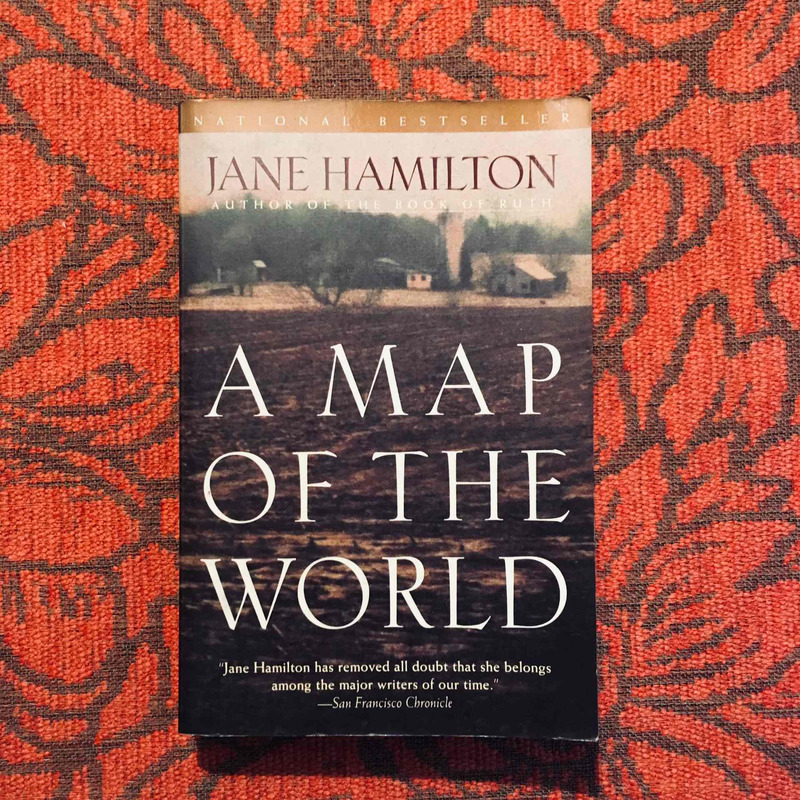Jane Hamilton. A MAP OF THE WORLD.