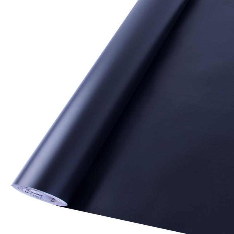 Vinil adesivo Goldmax preto fosco larg. 0,61 m