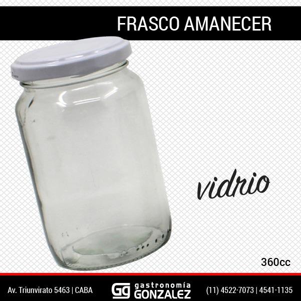 Frasco Amanecer 360 cc