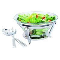 Conjunto para Salada Talher Inox 30Cm Glitter 7517339