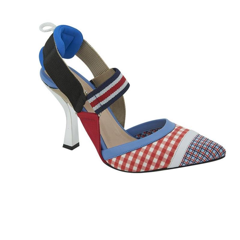 Zapatilla Multicolor Con Correas 020900