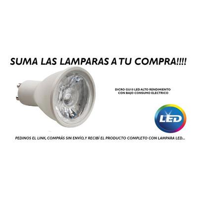 Aplique 1 Luz Blanco Platil Moderno Apto Led Gu10 U1061 Mks