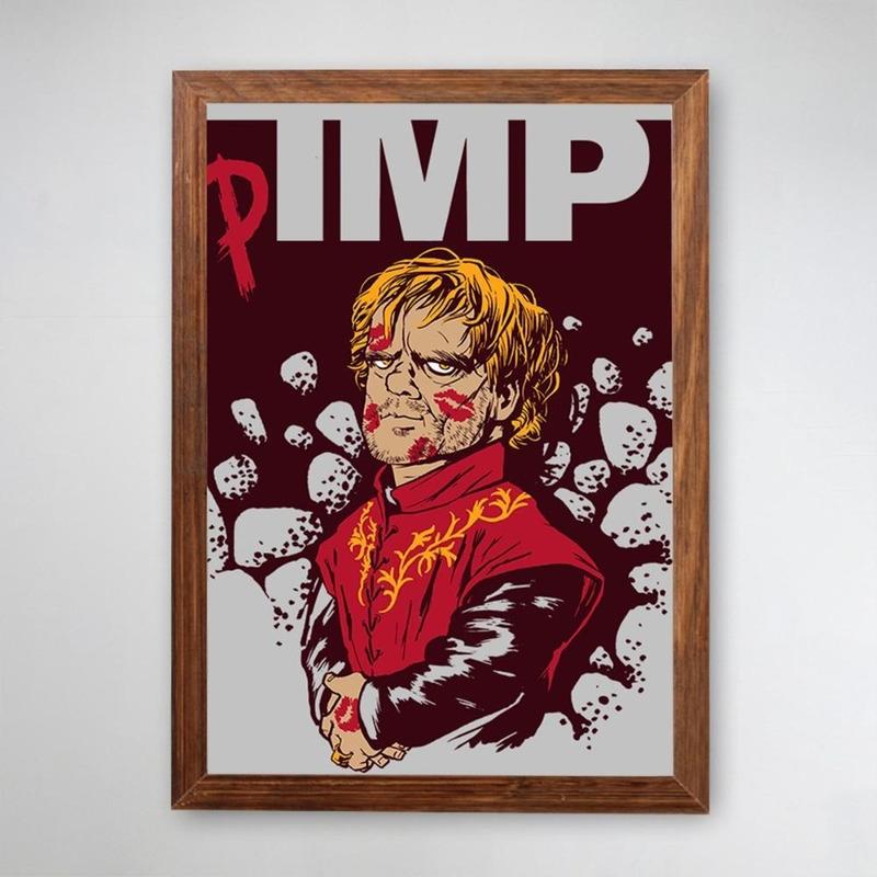 PÔSTER COM MOLDURA - PIMP