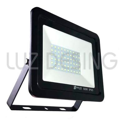 Reflector Led 50w Ip65 Alta Potencia Aluminio Luz Desing
