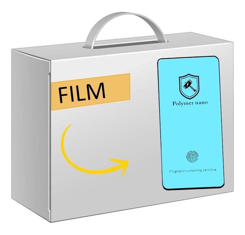 FILM TEMPLADO CURVO PMMA + PET 3D SAMSUNG NOTE 10 PLUS