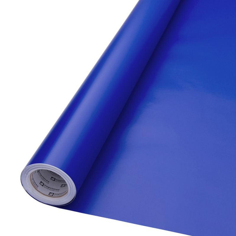 Vinil adesivo maxlux azul vivido translúcido larg. 0,61 m