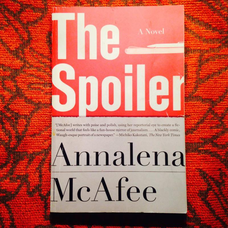 Annalena McAfee.  THE SPOILER.