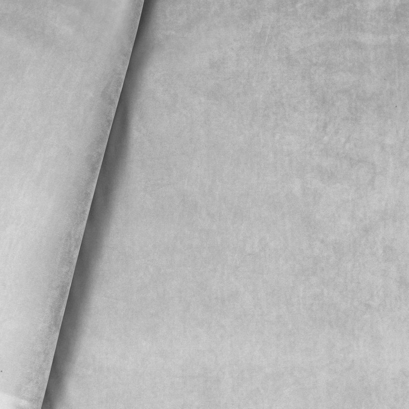 Tecido veludo real cinza claro Coleção New York IV