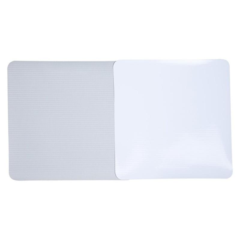 Lona pvc para frontlight Unifront branca brilho avesso cinza (380 g) larg. 3,20 m