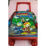 Mochila Mickey con carrito