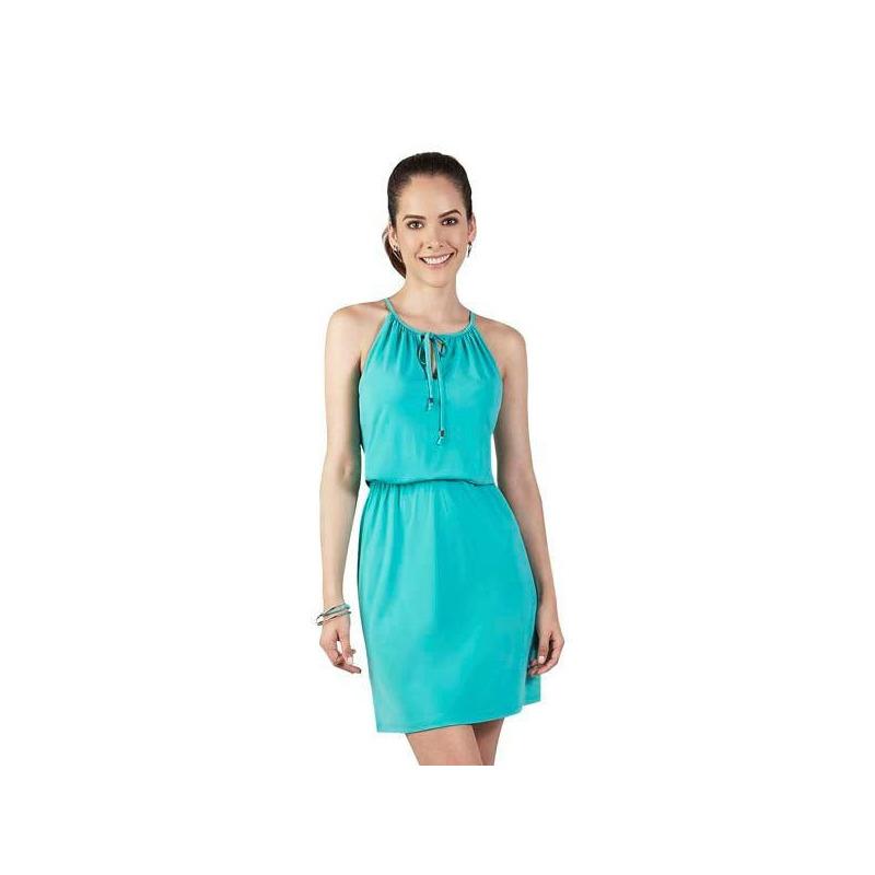 Vestido corto verde 015132