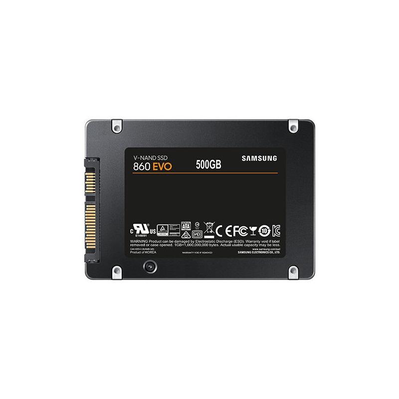 Unidad De Estado Solido Ssd 500gb Samsung Evo 860 2.5