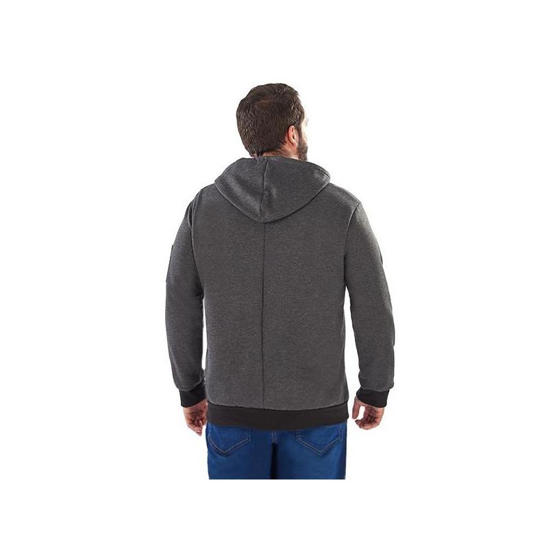 Sudadera gris con negro  014593P
