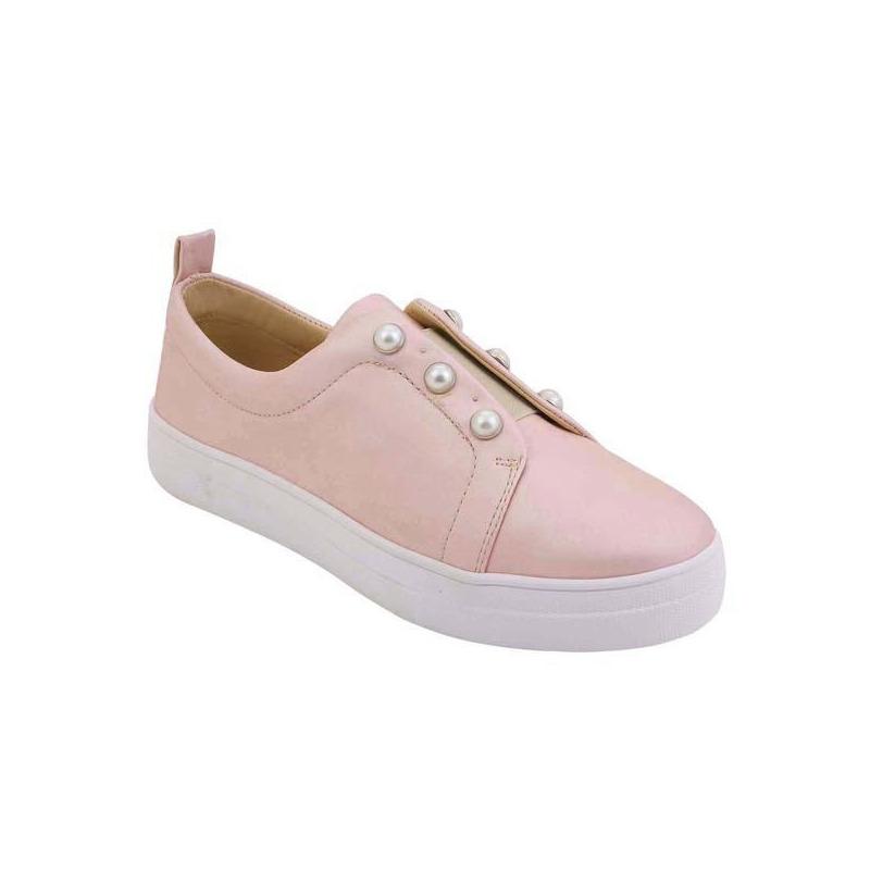 Sneakers rosas con perlas 017380