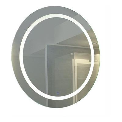 Espejo Redondo Con Led Moderno Tactil Baño Pared N°3