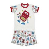 Pijama Robô Club Z