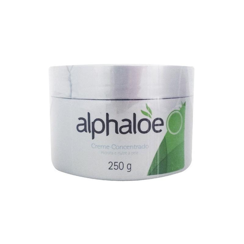 Creme Facial 93% de Aloe Vera (Conc. 7,6:1) 250g Alphaloe