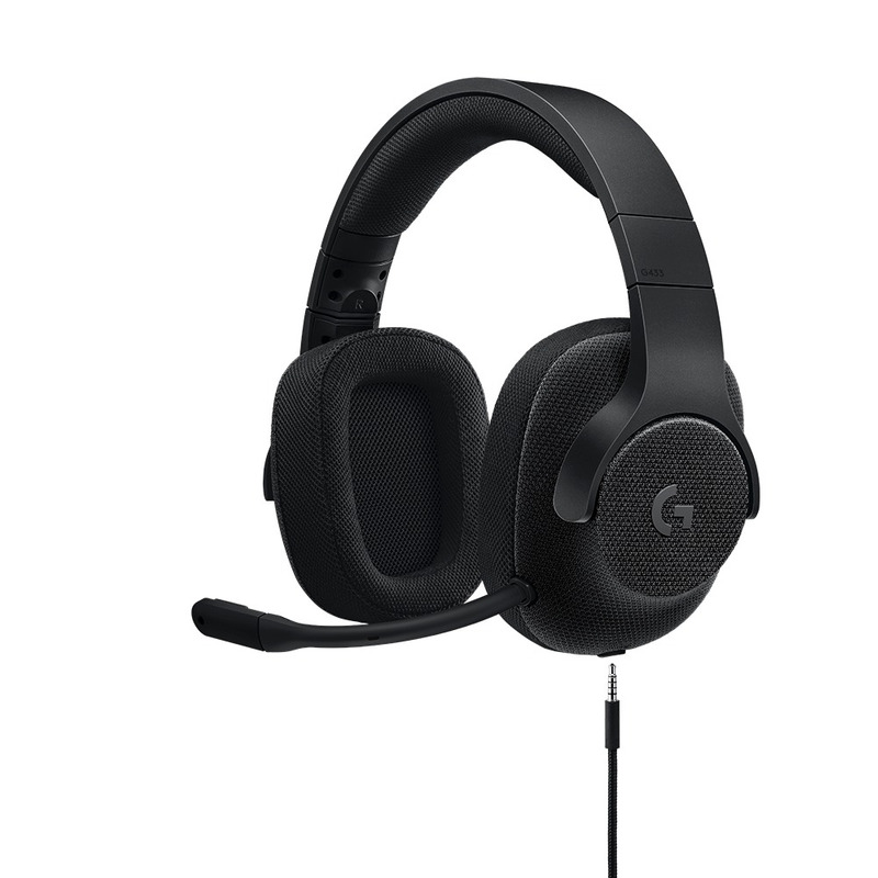 HEADSET GAME USB 7.1 LOGITECH G433 PRETO