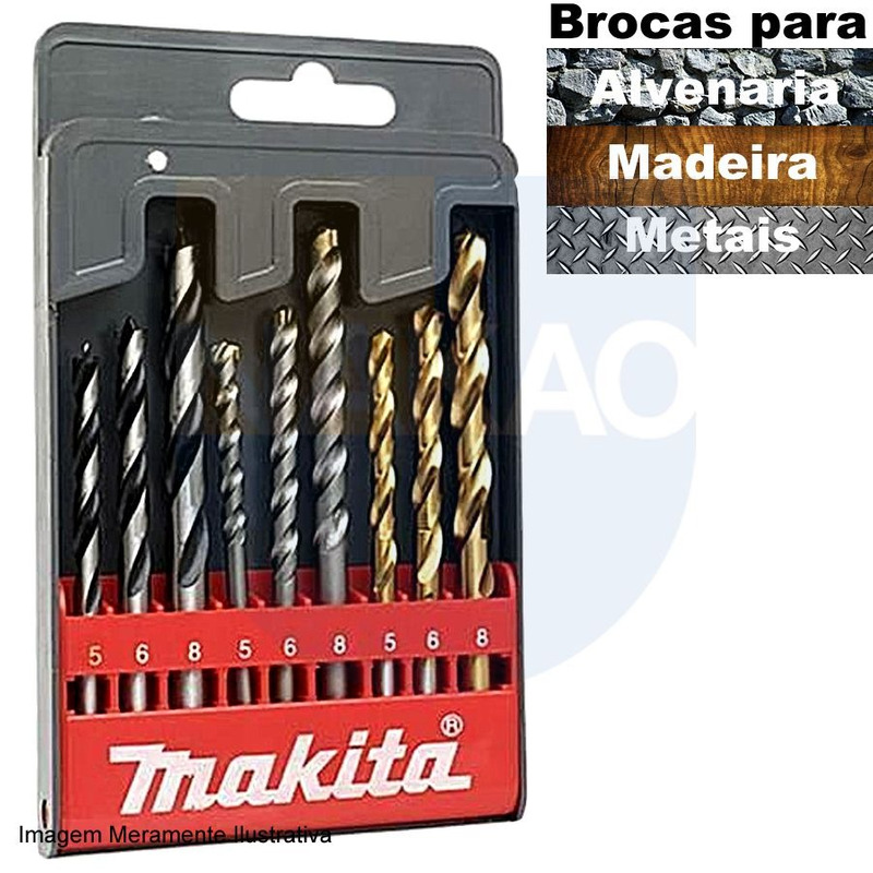 """Fresa Ponta ' V ' HT 7/8"""" - Makita - D-01840"""