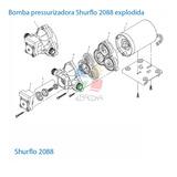 CABECOTE SHURFLO 2088-343-500 C/PLACA