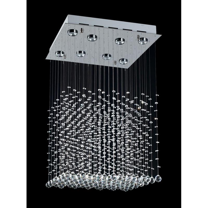 Colgante Mather Cairel Moderno Con 6 Led Gu10 Incluidas