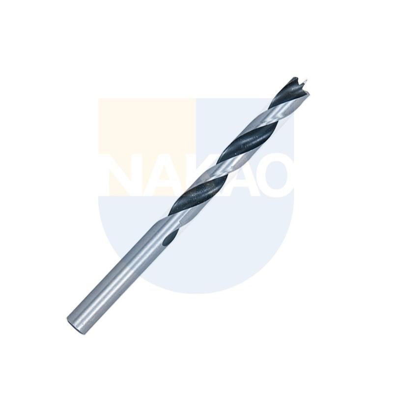Broca de Aço Carbono p/Madeira 6x95mm Helicoidal - D-07054 - Makita