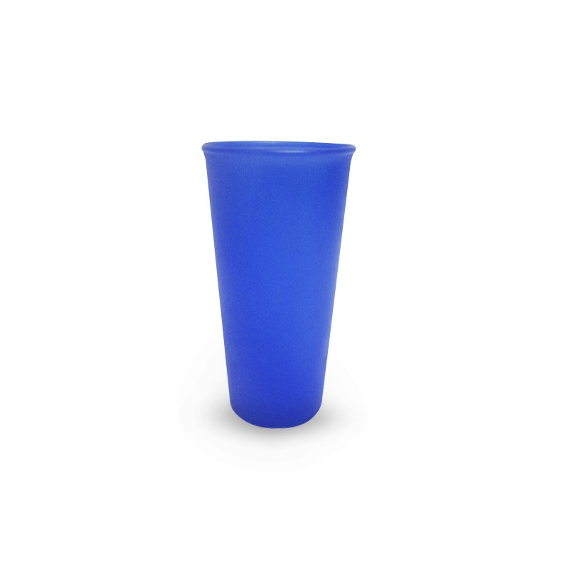 Vaso Transparente Color Azul 16 Oz Plastico Modelo:  1489101