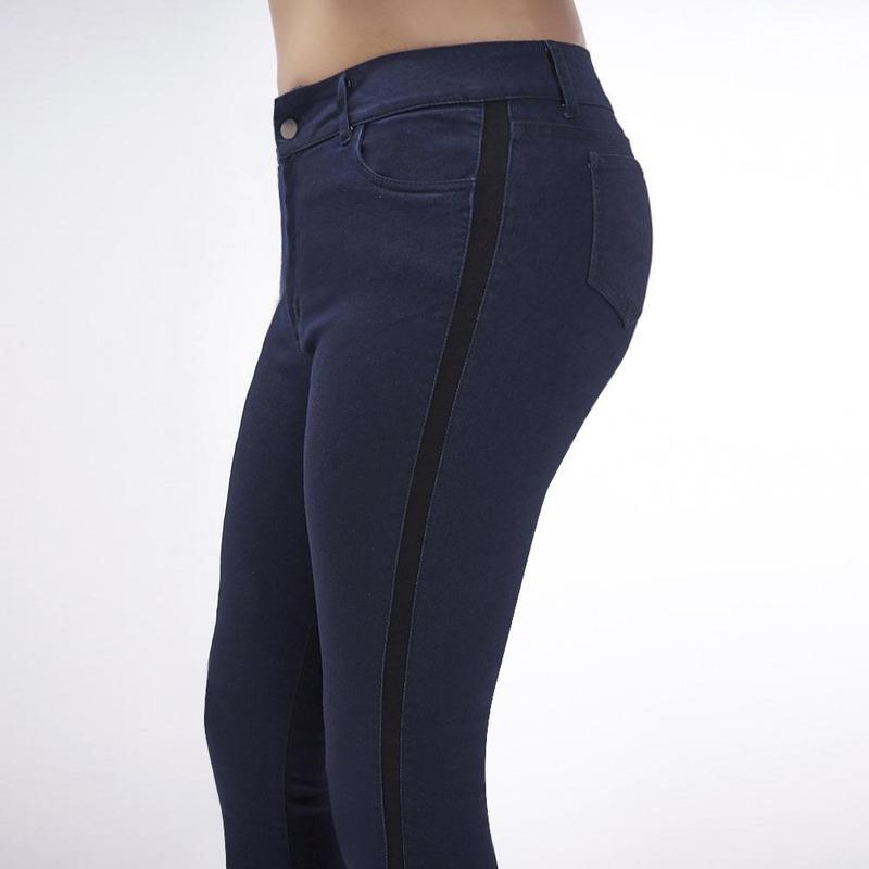 Pantalón Azul Mezclilla Obscuro 019403