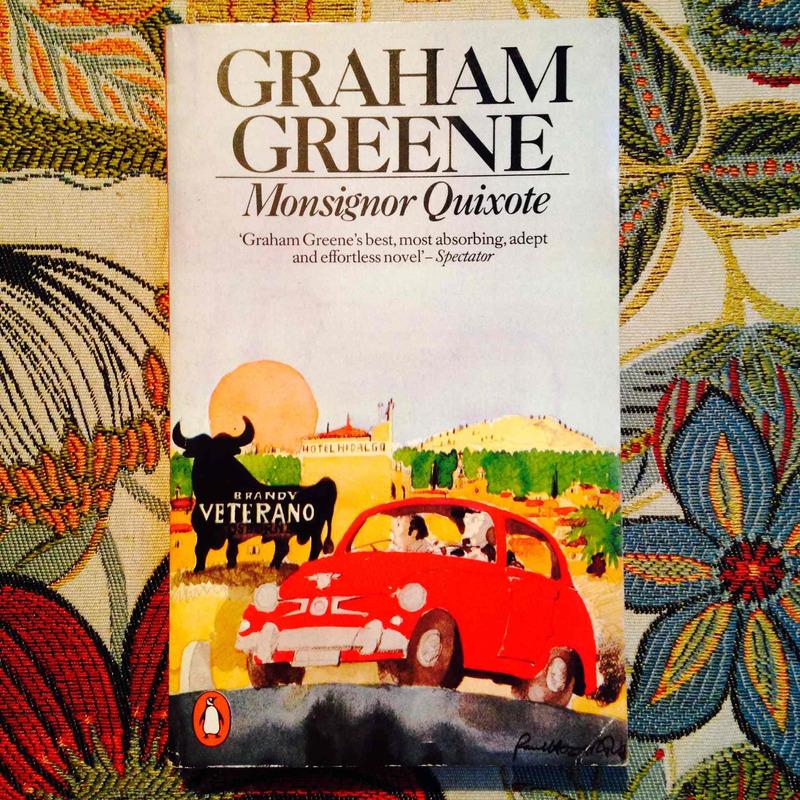 Graham Greene.  MONSIGNOR QUIXOTE.