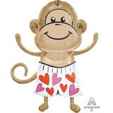 globo mono enamorado 60cm desinflado apto helio