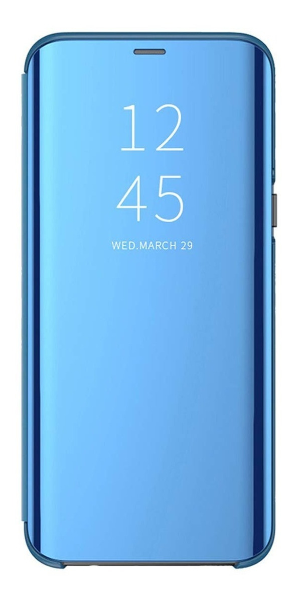 FLIP CLEAR VIEW STANDING A8 PLUS 2018 AZUL