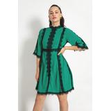 Vestido Oriental Lilly Verde