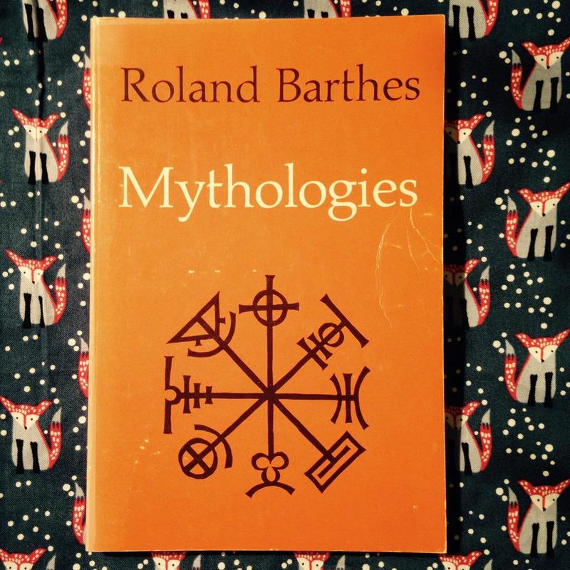 Roland Barthes.  MYTHOLOGIES.
