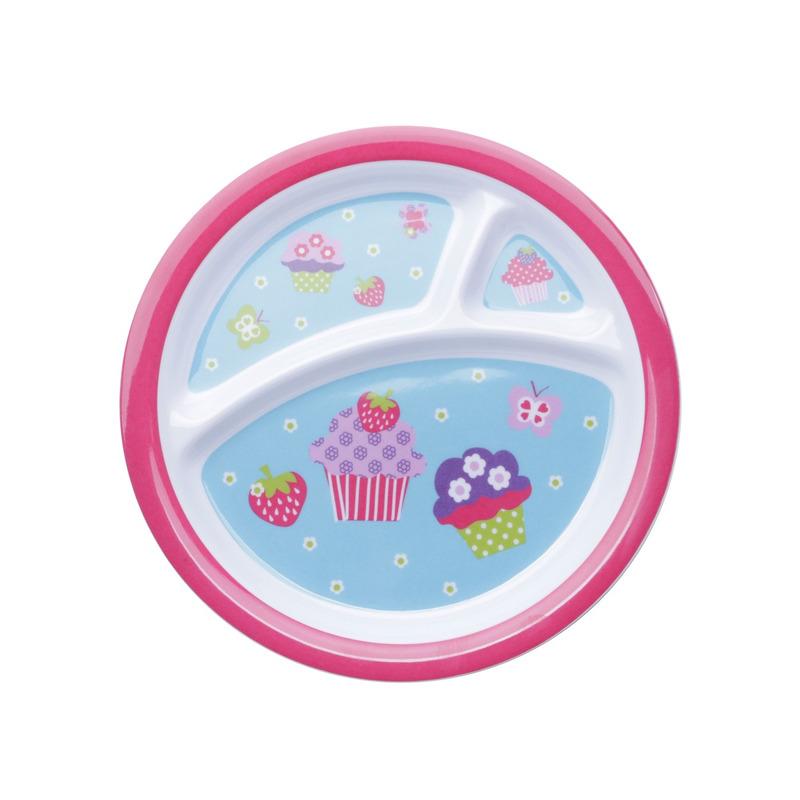 Jogo 5 peças para Criança De Melamina Cupcake - Prestige 31025955