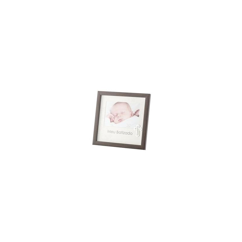 Porta Retrato meu Batismo de Plástico 13X18Cm - Lyor - 4103496