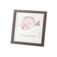 Porta Retrato Meu Batismo de Plástico 13X18Cm 4103496