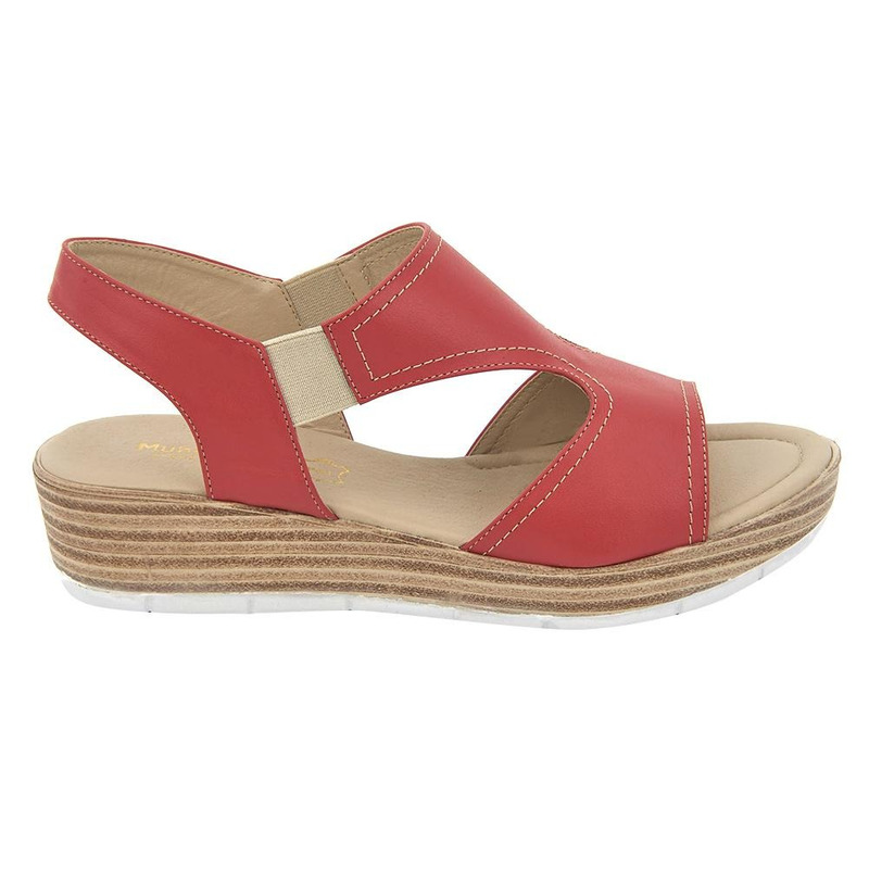 Sandalia De Plataforma Coral 020265