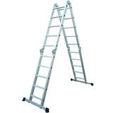 Escalera Multifuncion Aluminio 4x5 Escalones Laury