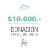 Donación Final de Obra