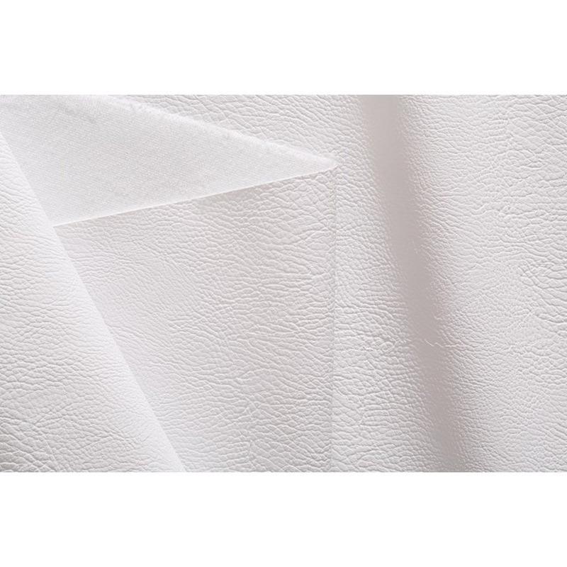 Tecido couro sintético fit lacoste branco