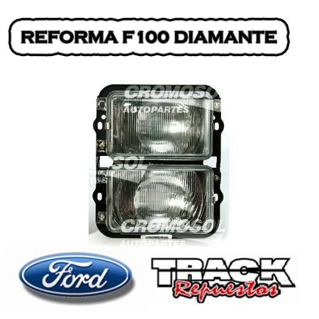 JUEGO ÓPTICAS REFORMA F100 67/73 Punta diamante