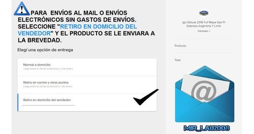 Actualizar Nuevo Y Ultimo Mapa Argentina + Radares P