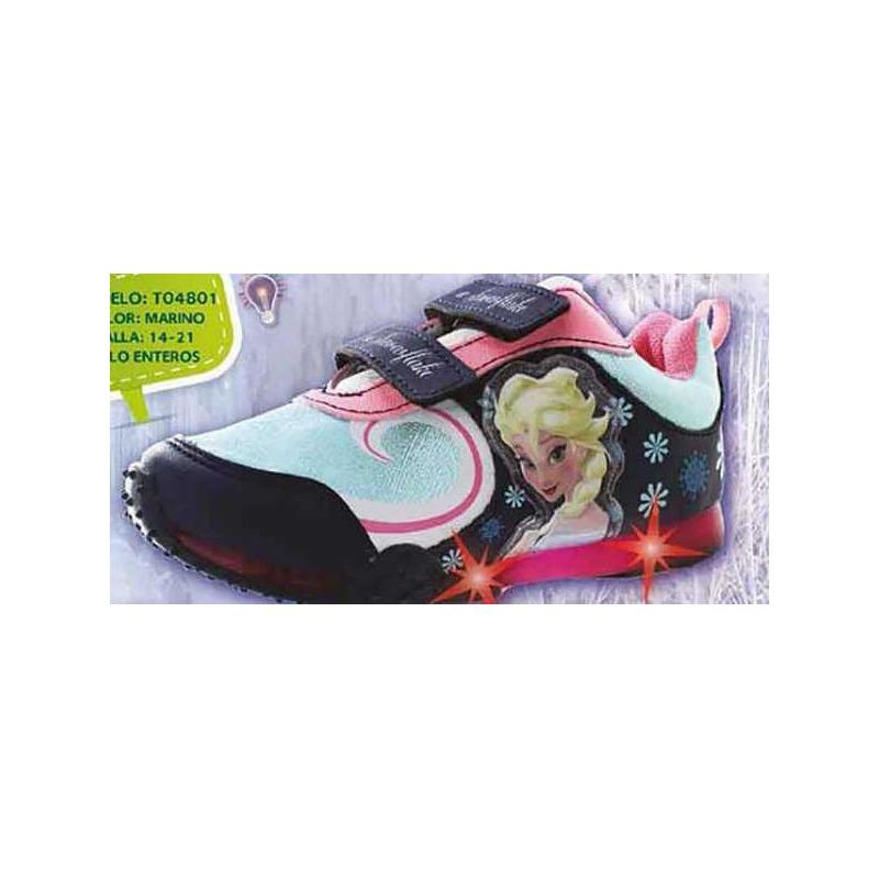 Sneakers Frozen multicolor con luces T04801