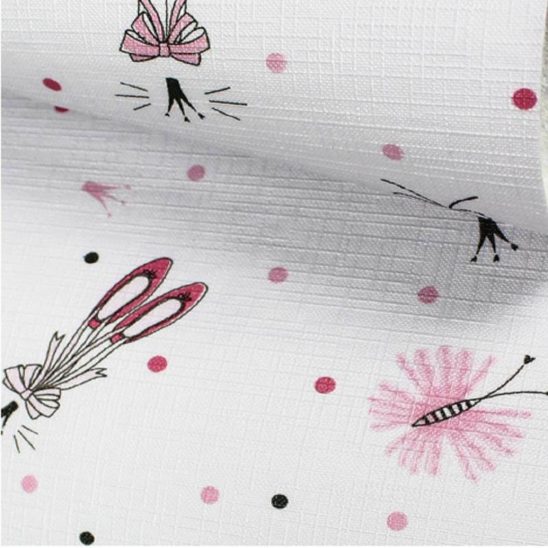 Tecido corino bailarina rosa - Larg. 1,40 m