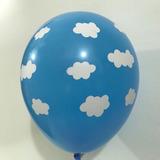 globo nubes desinflado apto helio